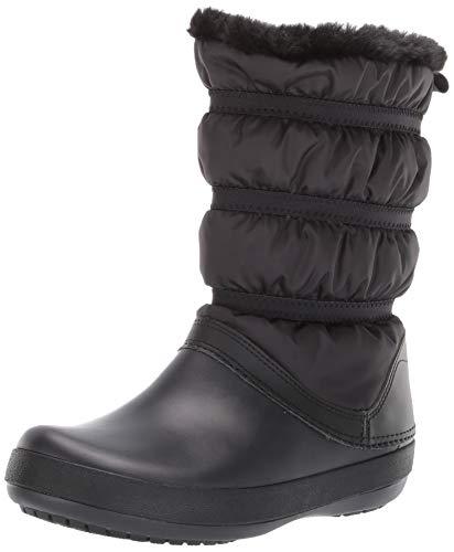 5af7ee68862 Crocs Crocband Winter Boot Women, Botas de Nieve para Mujer, Negro (Black),  34/35 EU