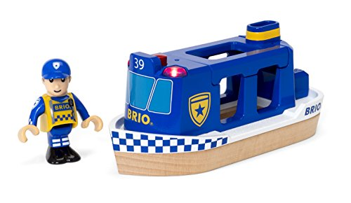 Brio - 33820 - Bateau PATROUILLE De Police
