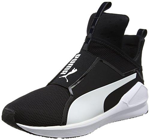 Puma Fierce Core, Chaussures de Fitness Femme, Puma Black / Puma Black Noir (Puma Black-puma White 08)
