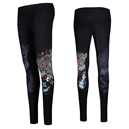 Blood In Blood Out Manos orando Leggings XS