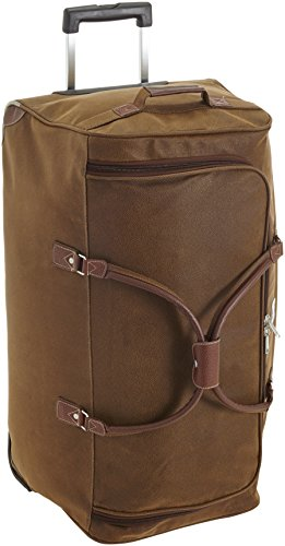 HAUPTSTADTKOFFER - Tiergarten - Trolley Travel Duffle Soft Bag Brown, 77 cm, 108 Liter