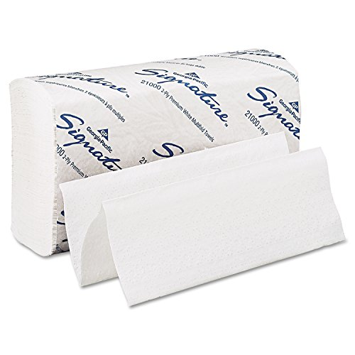 georgia-pacific-signature-21000-white-2-ply-premium-multifold-paper-towel-new