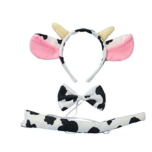 3 Pc/Sistema Niños Adultos Leche De Vaca De La Vaca