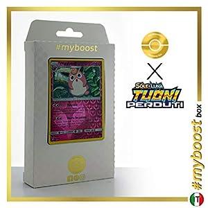 Wigglytuff 134/214 Holo Reverse - #myboost X Sole E Luna 8 Tuoni Perduti Box de 10 Cartas Pokémon Italiano