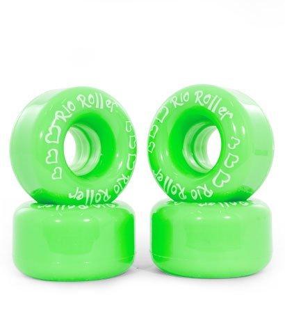 Rio Roller Coaster Wheels Green, 58mm/82A Green Coaster