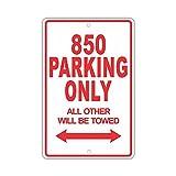 Eugene49Mor Volvo 850Parking Only Alle Anderen Werden geschleppt Lächerlich Funny Neuheit Garage Aluminium 20,3x 30,5cm Schild Teller
