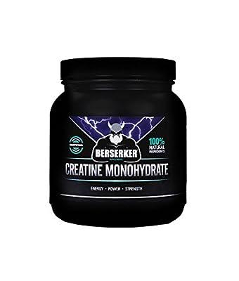 BERSERKER Pure 100% Creatine Monohydrate Powder | Pharmaceutical Grade | Free UK Delivery