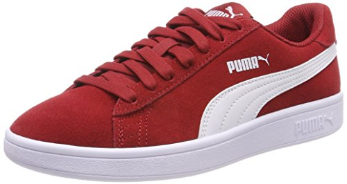 Puma Unisex-Erwachsene Smash v2 Cross-Trainer, Rot (Red Dahlia White), 43 EU (Herren Cross-trainer Sneaker)