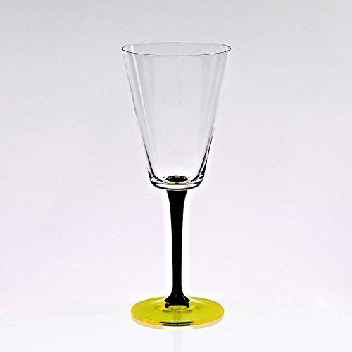 CRISTALICA Cristal Coupe de vin Manhattan 240ml, Verre, (German Crystal Powered by