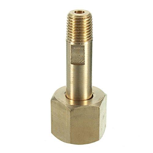 CGA-540 Nut 3 Nippel auf 1/4 Zoll NPT Zylinder Fittings Regler Zulaufflasche (Sauerstoff) -