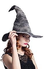Idea Regalo - Boland- Cappello Stregone per Adulti, Grigio, Taglia Unica, 96925