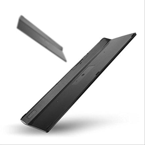 Drahtlose Maus und Tastatur set super dünne gedämpften Schokoladen-Tastatur-USB-Empfänger , black (Stilvolle Drahtlose Tastatur)