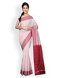 PavechaS Silk Cotton Saree (Mk2491_Beige)