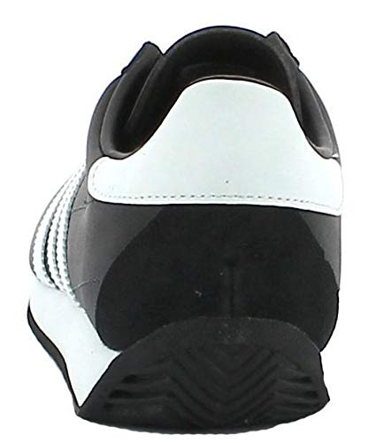 cheaper 91cc9 4037a Scarpa Adidas Originals Country Og Uomo Sneakers Pelle Nero Bianco Nuovo  S81861