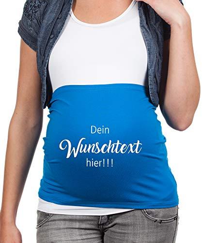 Bauchband Schwangerschaft mit eigenen Wunschtext