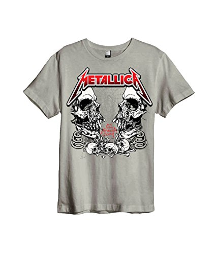 Amplified Hombres Ropa Superior/Camiseta Metallica Birth School