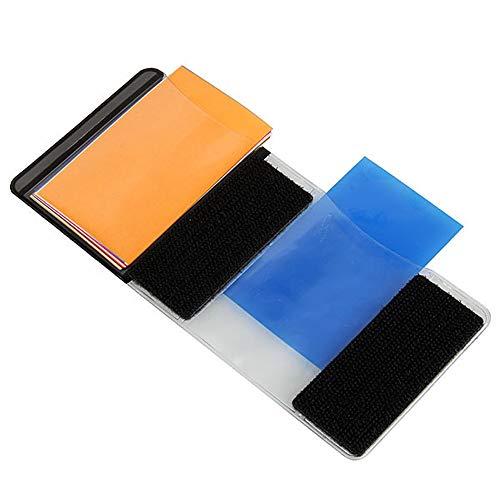 ZRK Top Flash Filter-Twelve Filter Universal Color Clip-Universal Flash Filter Color-Superal für alle Kamerafilter einfach zu Carry (Mit Tops Eitelkeiten)