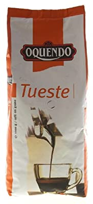 Oquendo Whole Bean Coffee Torrefacto Mixed Roast 1 Kg from Fast EuroCafe SA
