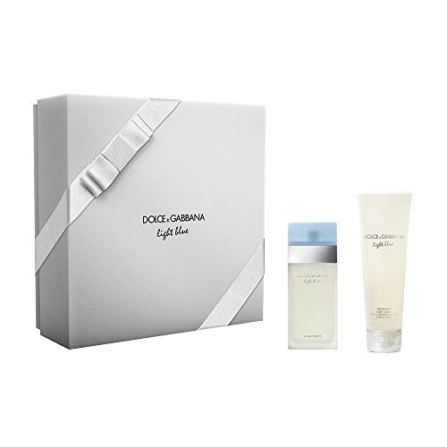 D&G LIGHT BLU F EDT 25ML+C/C50 2015 COFFRET GIFT BOX COFANETTO