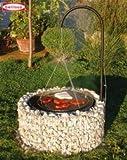 Feuer- und Grillstelle 920 x 400 mm