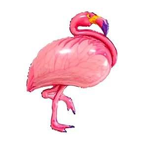 ballonfritz Flamingo Ballon - XXL Riesenballon für Luft und Helium 100x60x20cm als Geburtstagsgeschenk, Party-Deko oder Überraschung für die Freundin