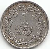 Deutsches Reich Jägernr: 319 1925 A sehr schön Silber 1925 1 Reichsmark Reichsadler (Münzen für Sammler)