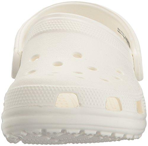 Crocs Classic, Sabot Unisex – Adulto Bianco (White)