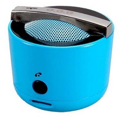 Mini cuiseur de riz en forme de haut-parleur portable pour iPhone, iPad, MP3et ordinateurs Bleu