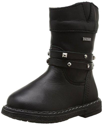 Geox B Glimmer, Boots bébé fille Noir (Black)