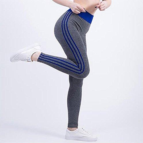 JIASHA Absorbono le donne Yoga Power Flex Yoga Pantaloni Nine Pantaloni 19
