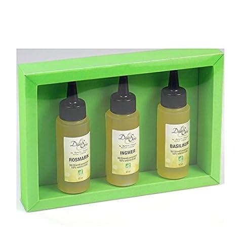 Geschenkset BIO Olivenöl mit Aroma aus Frankreich | gut als