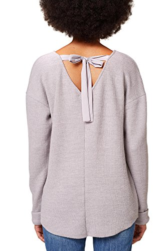 ESPRIT Damen Pullover Grau (Light Grey 5 044)