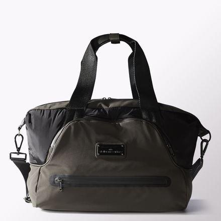 Adidas by Stella McCartney Iconic piccola borsa da palestra, grigio/nero, Taglia unica