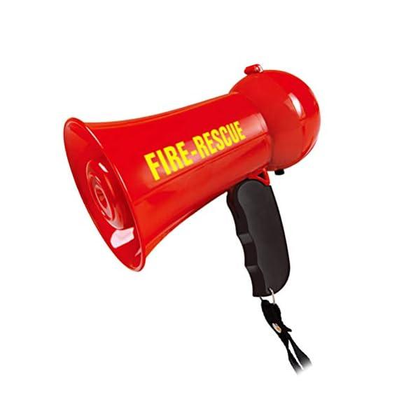 Egosy Kids Mini Speaker Simulation Pretend Kids Fire Brigade Megaphone Kids Mini Megaphone Toy para niñas niños 1