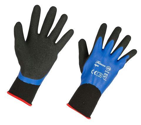 keron-Gartenhandschuhe, Arbeitshandschuhe, aus Nylon, Outdoor Handschuhe, 2Paar