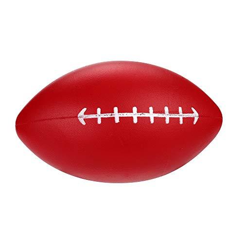 Dkings Squishy Langsame Aufsteigende Spielzeuge,Super Soft Kawaii Adorable Dekompression Rugby Duft Stress Relief Spielzeug Kinder Erwachsene (Rot)