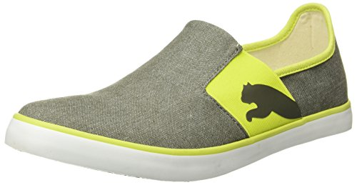 Puma Unisex Lazy Slip On Ii Dp Castor Gray-Limepunch Sneakers - 9 UK/India (43 EU)(36078521)