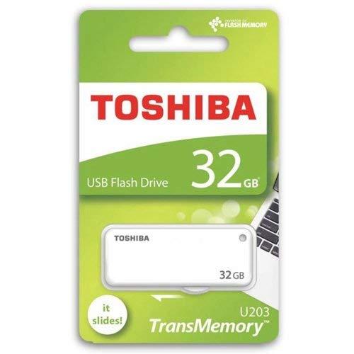 Toshiba Yamabiko 32GB USB Pendrive (White)