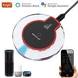 EACHEN IR controllo Hub Wi-Fi (GHz) abilitato telecomando universale a infrarossi per condizionatore d' aria TV DVD utilizzando Tuya Smart Life app funziona con ALEXA Google Home Ifttt (ir-dc6)