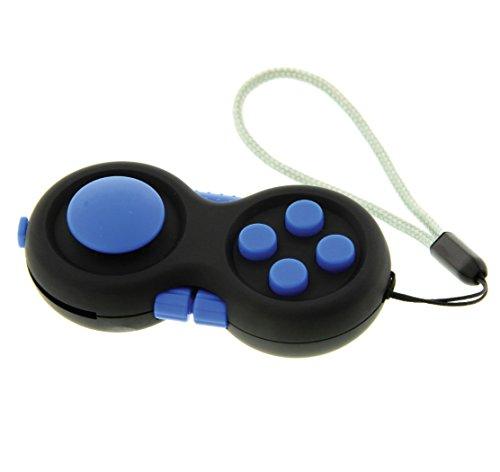 Fidget Pad / Fidget Tablet. Juego anti estrés / ansiedad. 8 funciones. Azul