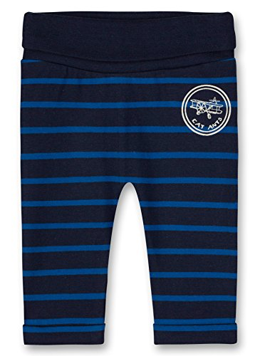 Sanetta Sanetta Baby-Jungen Jogginghose Jogging Pants Lined, Blau (Evening Blue 5683.0), 56