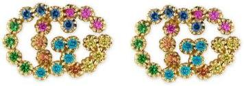 Gucci Running g Earrings en 18kt Yellow Gold ybd481676002