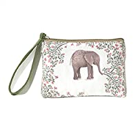 Pengyu Women Fashion Mini Cute Elephant Elk Whale Cat Printed Handbag Coin Purse Wallet - 4