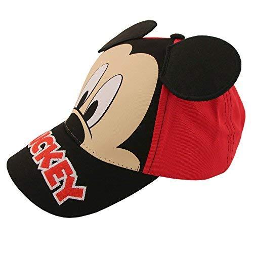 Disney Jungs Mickey Mouse Charakter Baumwolle Baseball Cap Kleine Jungen - Alter 4-7 â €
