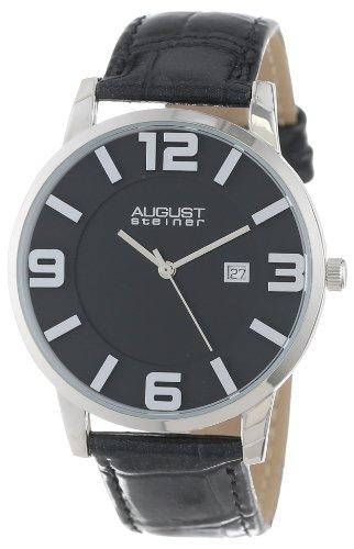 August Steiner AS8055BK - Reloj para hombres
