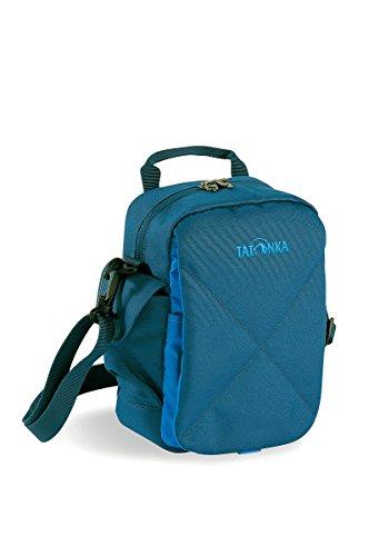 Tatonka, Borsa a tracolla Check In XT, Beige (Silk), 23 x 17 x 8 cm, 2 litri Blu (Shadow Blue)