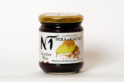 Confettura extra pera e cacao - Vasetto 200 gr.