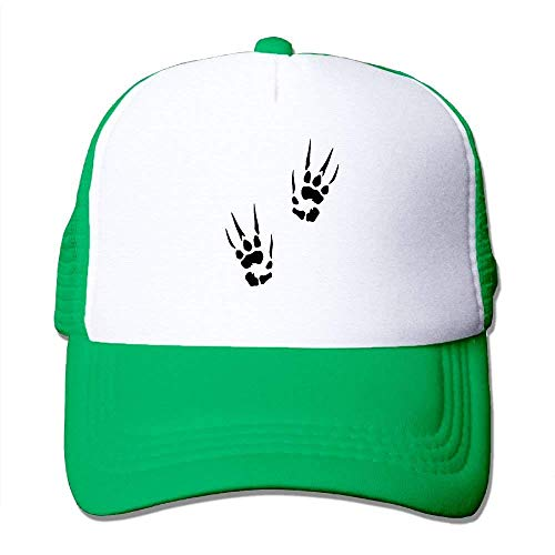 Summer Flexfit Trucker Mesh Hat, Devil Hand Prints Fitted Hats Sports Baseball Caps - Notre-dame-fitted Cap