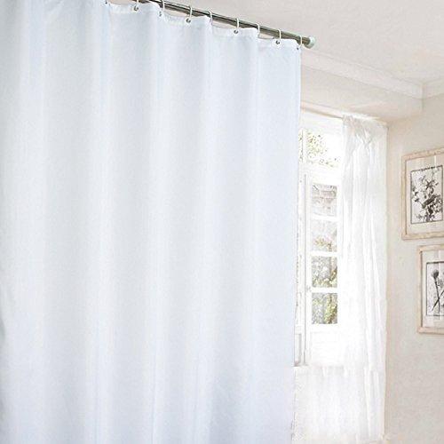 Ufaitheart High-quality Extra Long Fabric Shower Curtain 72 x 78 ...