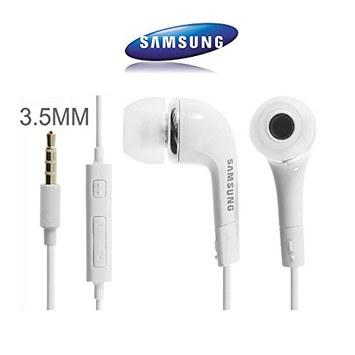 Anamika Samsung Galaxy J7 / Galaxy J5 Earphones With Mic, Handsfree Headset With Deep Bass And Music Equalizer (White) EHS61ASFWE  available at amazon for Rs.160